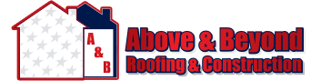 Above and Beyond Roofing and Construction Header Logo