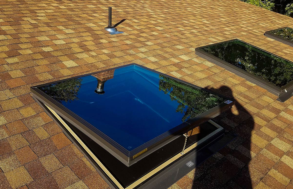 Residential Roofing - skylight installations
