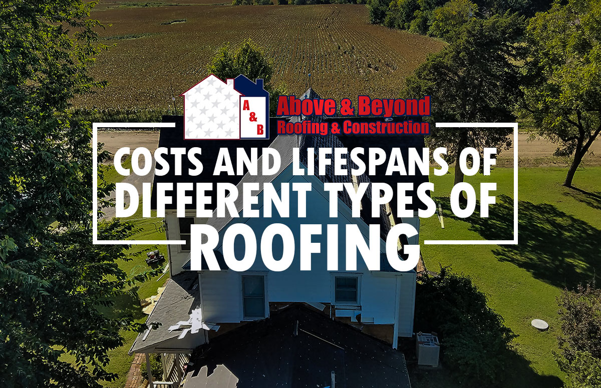 Costs and Lifespans of Different Types of Roofing