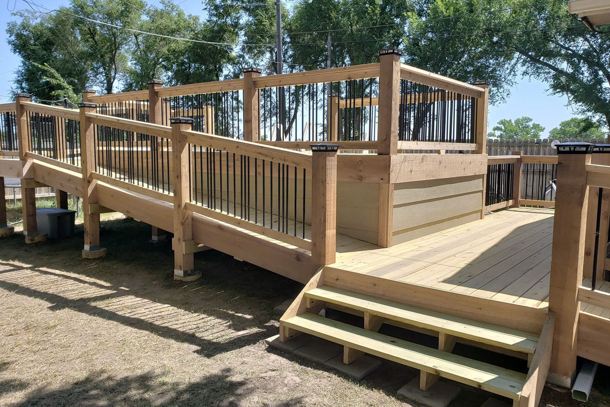 Wichita Deck Building Company Home Remodeling Contractor Aab